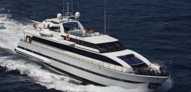 Queen South Charter Yacht