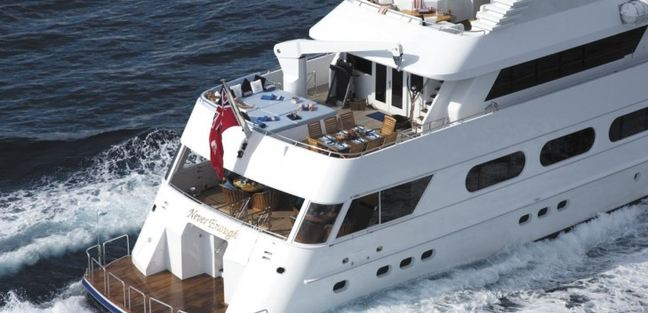 Never Enough Charter Yacht - 4
