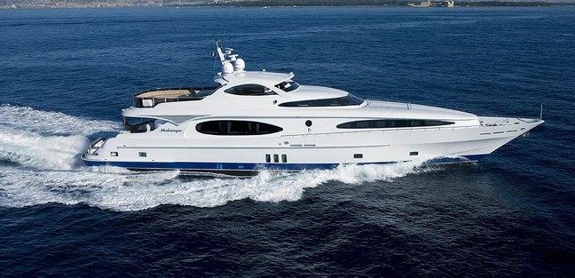 Melanya Charter Yacht
