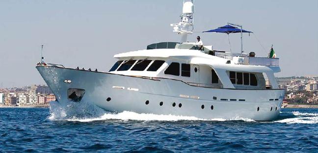 Mr White Charter Yacht