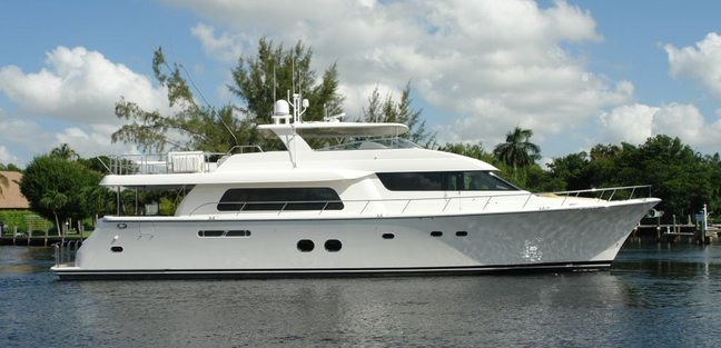 Seas the Moment Charter Yacht