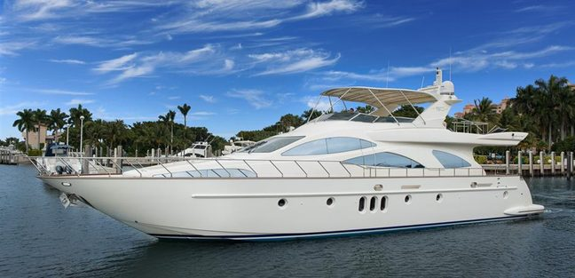 Antares Charter Yacht