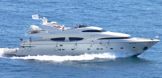 Lady Power Charter Yacht