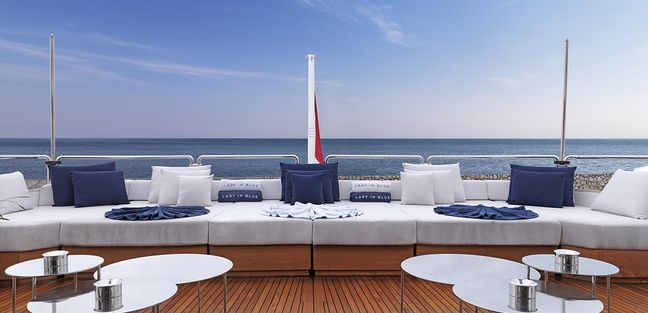 Lady in Blue Charter Yacht - 5