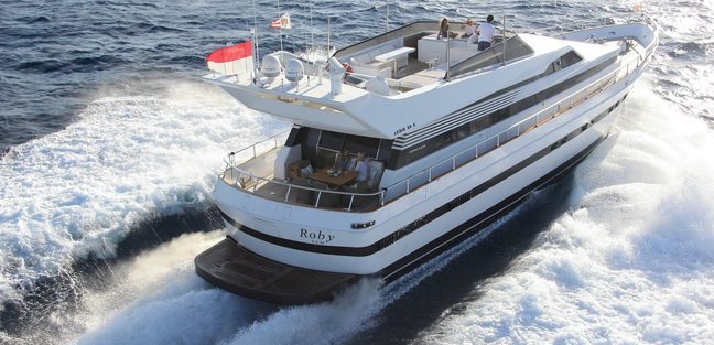 Roby Charter Yacht - 2