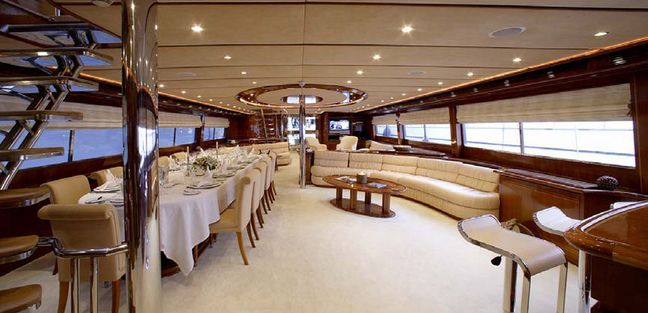 (SWJ) 131' Custom MY 40M 2008 Charter Yacht - 5