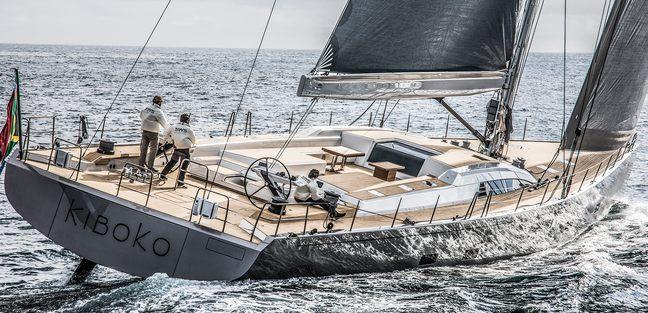 Kiboko Tres Charter Yacht