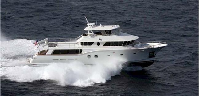 Dancing Milly III Charter Yacht