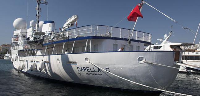 Capella C Charter Yacht - 2