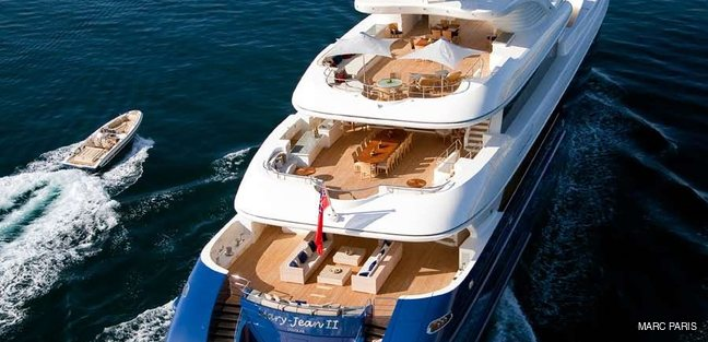 MARY-JEAN II Yacht Charter Price - ISA Luxury Yacht Charter