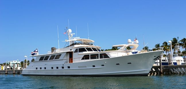 Lady Arden Charter Yacht