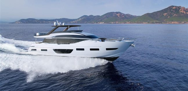 Princess Y85 Charter Yacht