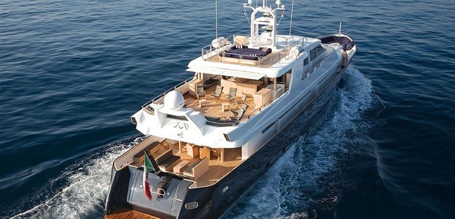 Lady in Blue Charter Yacht - 3