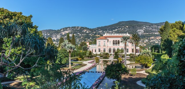 See a work of art at Villa Ephrussi de Rothschild