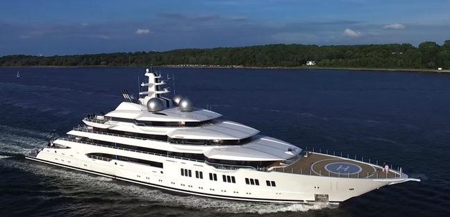 Amadea Charter Yacht - 3