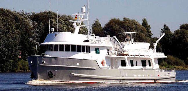 HCH X Charter Yacht