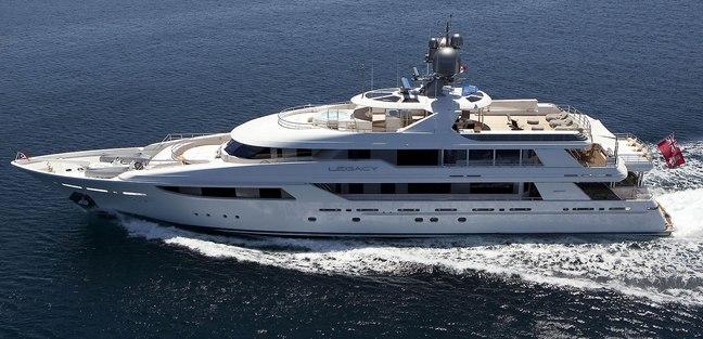 Legacy Charter Yacht