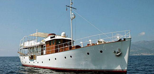 Lady Hertha Charter Yacht
