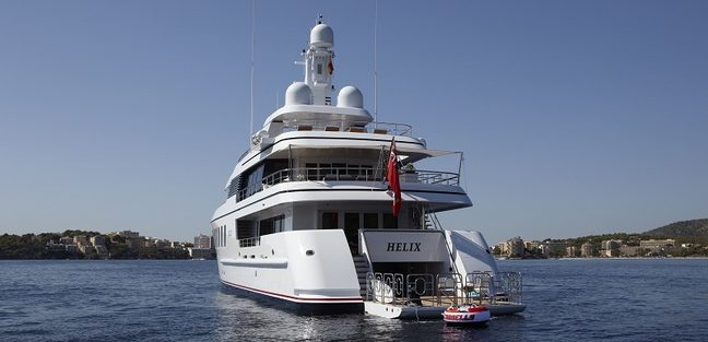 Megan Charter Yacht   6. MEGAN Yacht Charter Price  ex  Helix    Feadship Luxury Yacht Charter