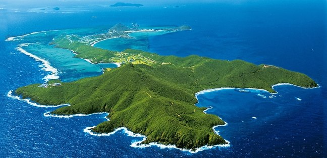 Emerald green islands of St Vincent and the Grenadines