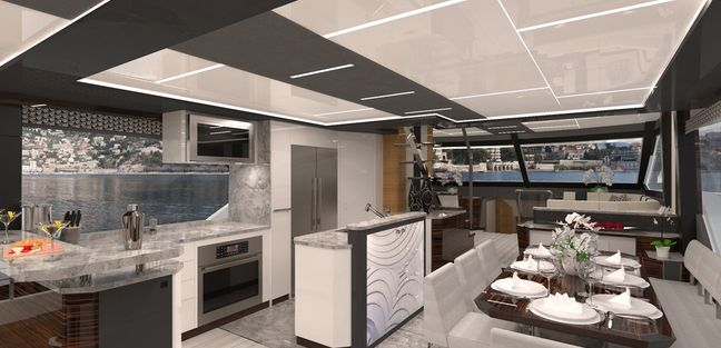 Ocean Alexander 84R Charter Yacht - 7