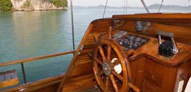 Classic Ketch Charter Yacht - 2