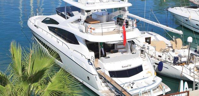 RAOUL W Charter Yacht - 2