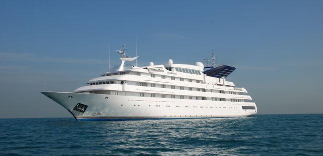 Dubawi Charter Yacht