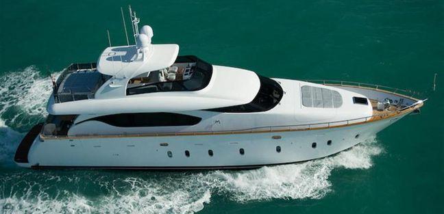 Maiora 70 Charter Yacht