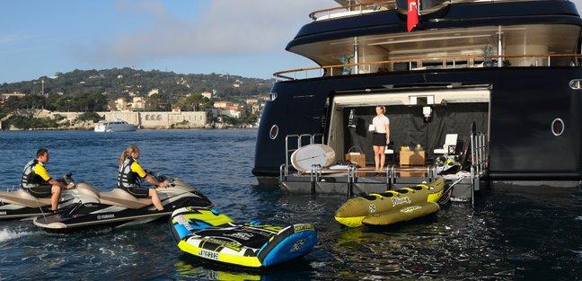 BASH Yacht Charter Price - Benetti Luxury Yacht Charter