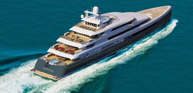 Illusion Plus Charter Yacht - 3