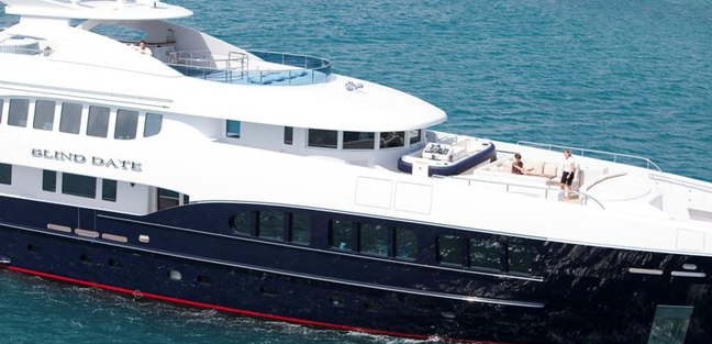 Blind Date Charter Yacht   6. BLIND DATE Yacht Charter Price   Heesen Luxury Yacht Charter