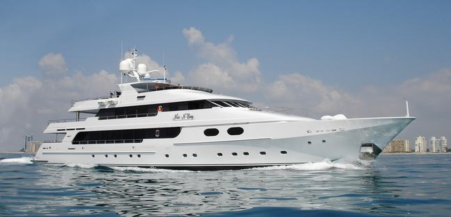 Top Five Charter Yacht