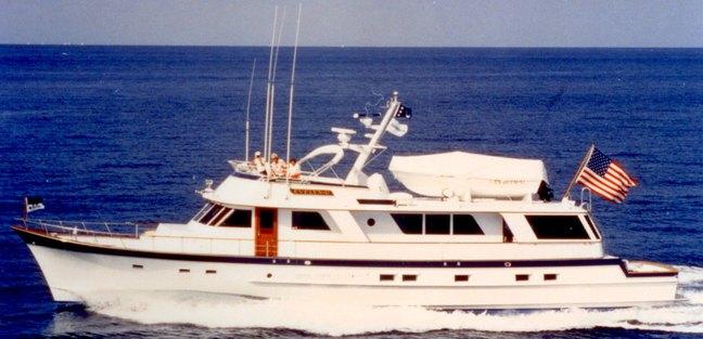 High Mileage Charter Yacht