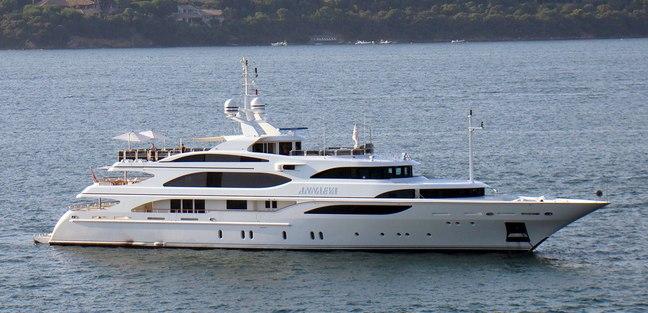AE Cap d'Antibes Charter Yacht