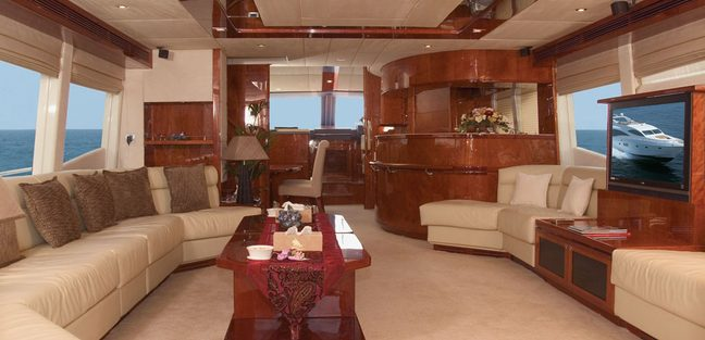 Majesty 88 Charter Yacht - 6