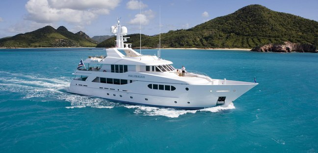Perle Bleue Charter Yacht