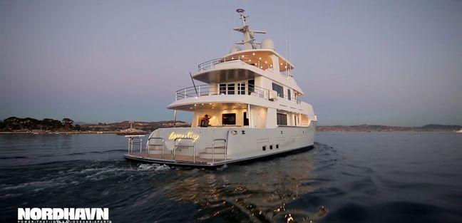 LACEY KAY Yacht - Nordhavn   Yacht Charter Fleet