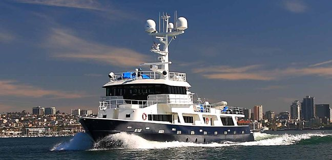 Socorro Vortex Charter Yacht
