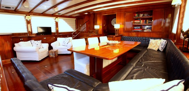 Queen of Datca Charter Yacht - 7