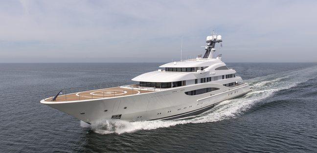 AMATASIA Yacht (ex  Areti) - Lurssen | Yacht Charter Fleet