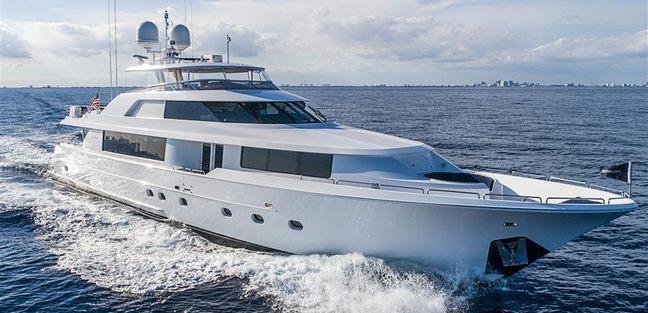 Westport 112 Charter Yacht