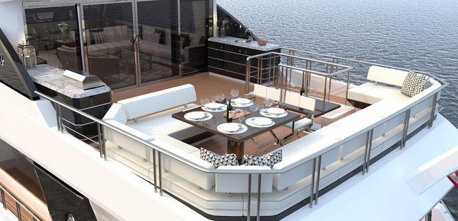 Ocean Alexander 84R Charter Yacht - 3