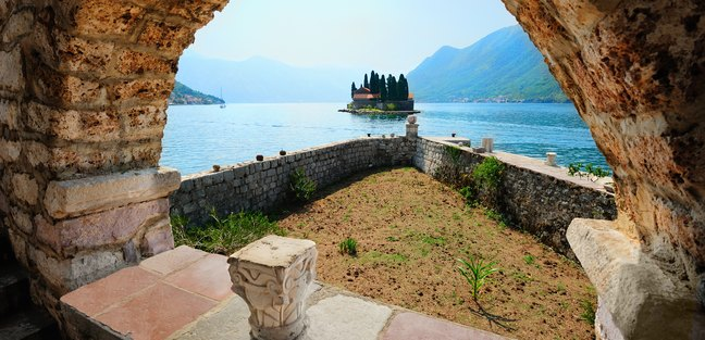 Views from the Benedictine Monastery in Perast