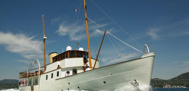 Blue Bird of 1938 Charter Yacht