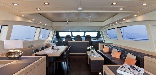92' Mangusta Charter Yacht - 5