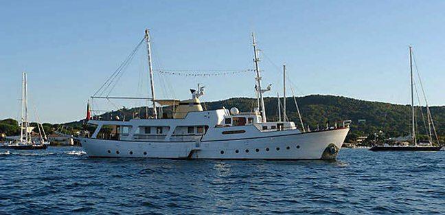 Golden Princess Yacht Charter Price Chantier Navals De Normandie