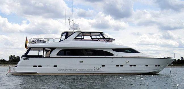 Elegance 84 New Line Charter Yacht