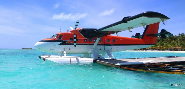 Take to the Skies in the Maldives