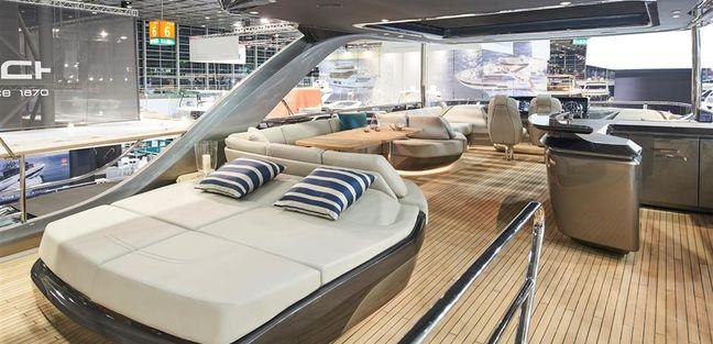 Princess Y85 Charter Yacht - 5